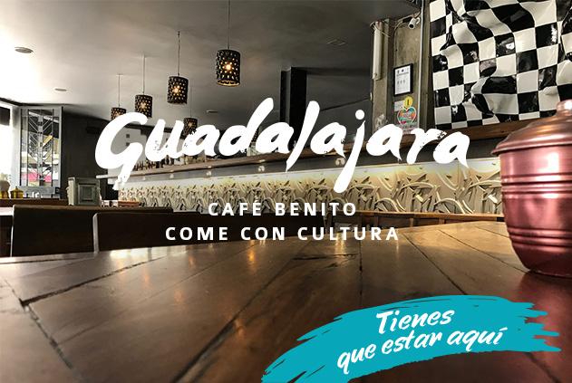 Café Benito, comer con cultura