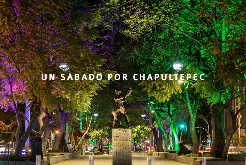 Un sábado por Chapultepec