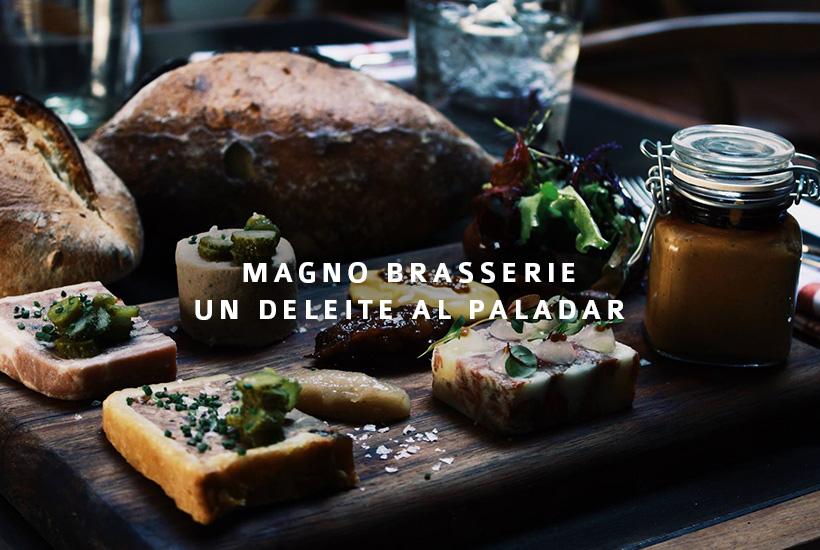 Magno Brasserie, un deleite al paladar
