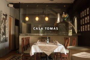 Casa Tomás, cocina de inspiración ibérica