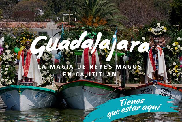 La magia de los Reyes Magos en Cajititlán