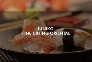 Juniko, fine dining al estilo japonés