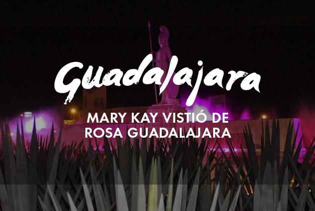 Mary Kay vistió de rosa a Guadalajara