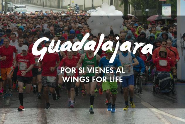 Wings for life en Guadalajara